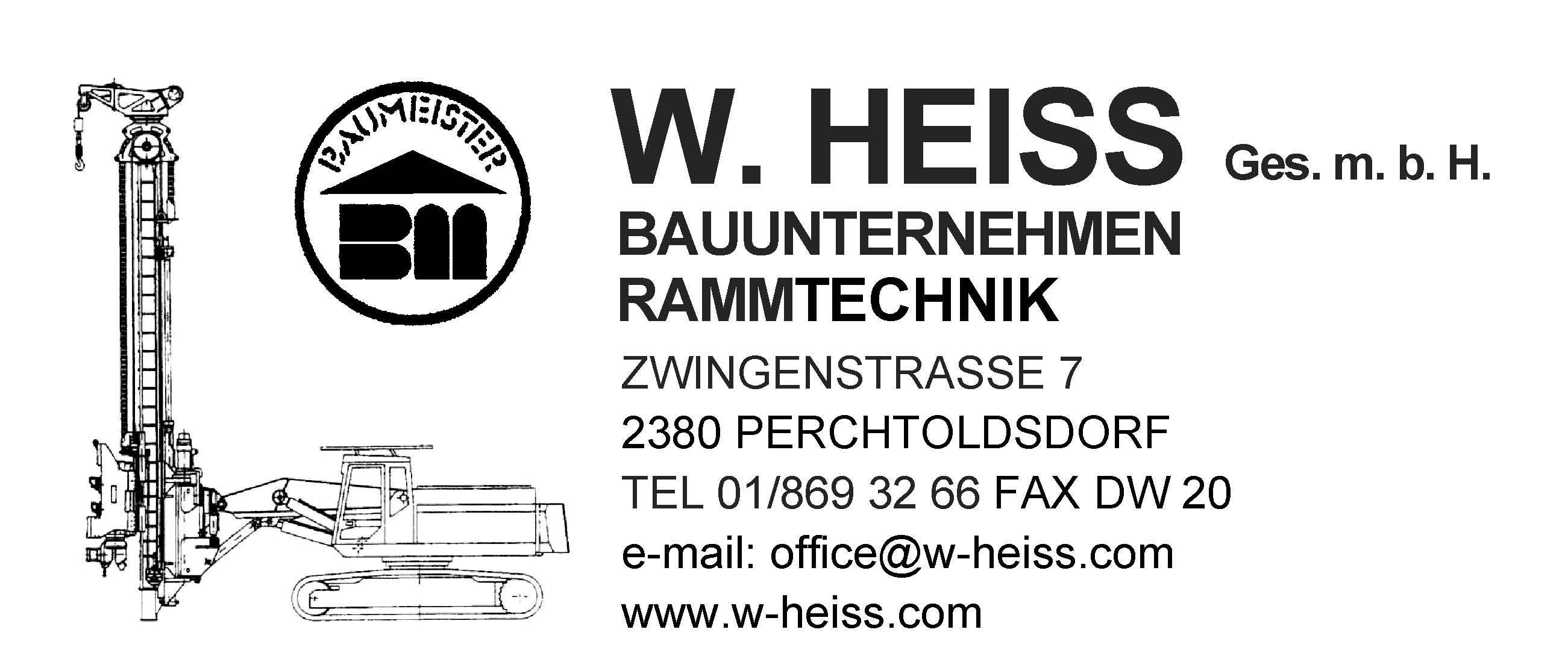 Baufirma Heiss